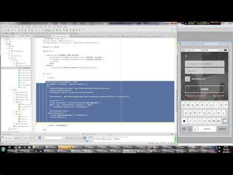 android studio registration tutorial android studio tutorial making a register screen 2 java