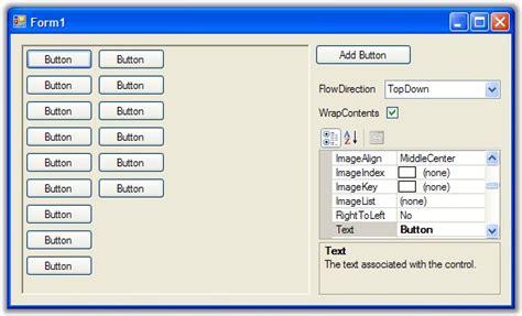 flow layout panel nedir more on the flowlayoutpanel david mohundro programmer