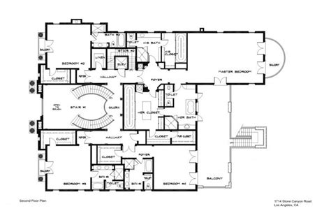 bel air floor plan 1714 stone canyon rd bel air floor plans contemporary