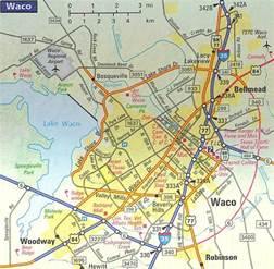 map of waco