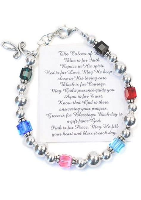christian bead bracelets meanings 17 best images about prayer on christian