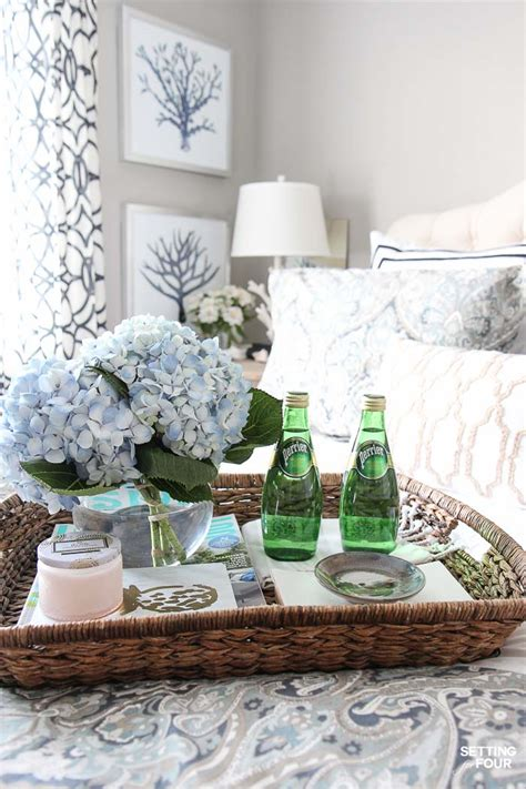decorative trays for bedroom 12 ways to create a cozy guest bedroom your company will