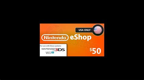 Nintendo E Shop Region Usa 20 nintendo eshop 50 card us network only 63 48