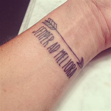 tattoo quotes on wrist arrow on wrist quotes