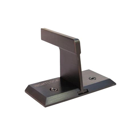 nightlock bronze sliding patio security door lock