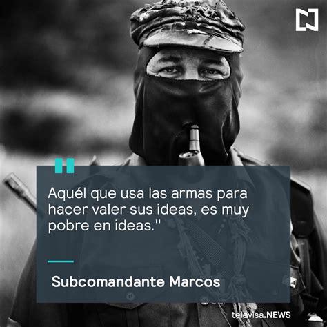 Subcomandante Marcos subcomandante marcos todas las noticias de 250 ltima hora