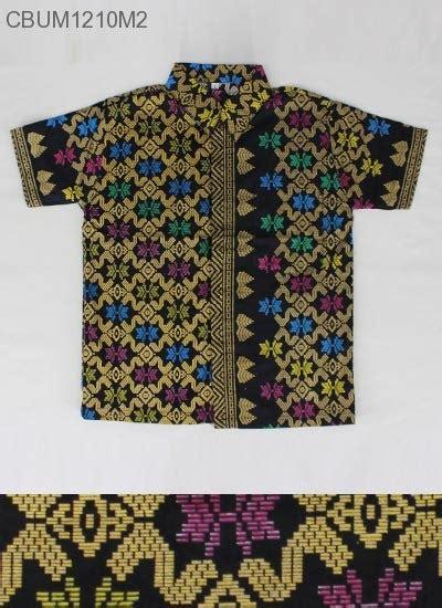 Kemeja Anak Batik Branded kemeja batik anak prodo motif songket kemeja murah batikunik