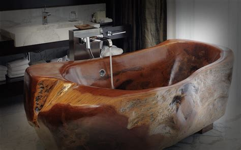10 relaxing and unique wooden bathtubs you will love to have