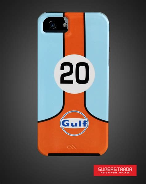 gulf racing logo gulf racing iphone5 bumper livery