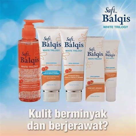 Pembersih Muka Safi Balqis White Trilogy review safi balqis white trilogy dengan ektrak limau gedang ayue idris