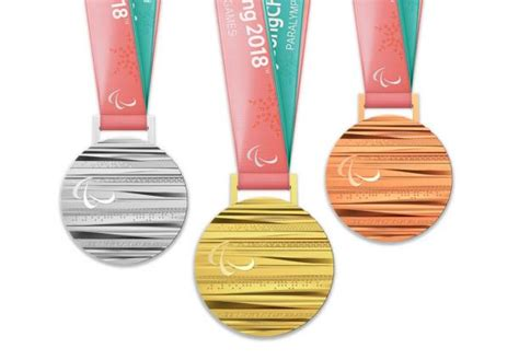 gold medal winter books pyeongchang 2018 medals revealed