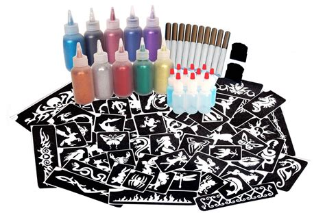 glitter tattoo kits glitter kit for lots of spooky