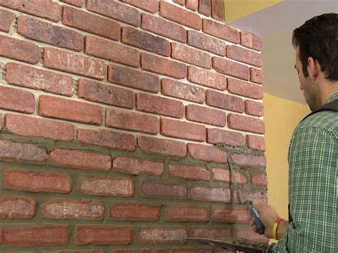 Red Kitchen Tile Backsplash by How To Install Brick Veneer On A Wall How Tos Diy