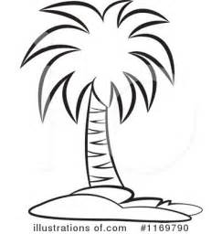 Royalty Free RF Palm Tree Clipart Illustration By Lal Perera  Stock sketch template