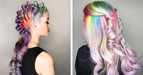 whats the trend for hair unicorn hair trend is a fantastical way to celebrate the