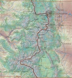 colorado hiking maps continental divide trail colorado hikes