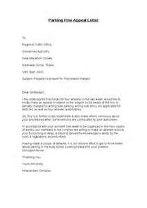 parking ticket appeal example letters docoments ojazlink