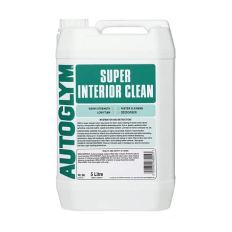 autoglym upholstery cleaner autoglym super interior cleaner 5 litre elite car care