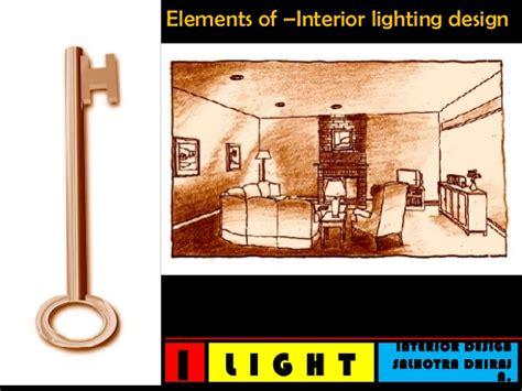 elements of interior design slideshare interior lighting design tips