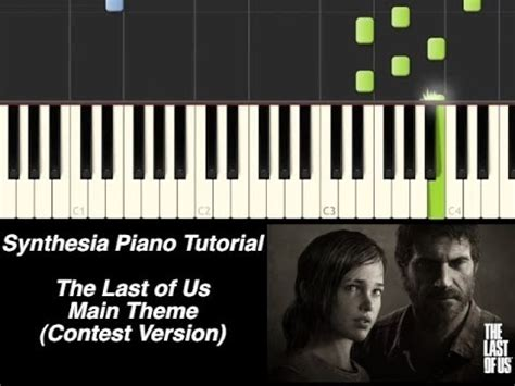 piano tutorial us and them piano tutorial the last of us main theme synthesia
