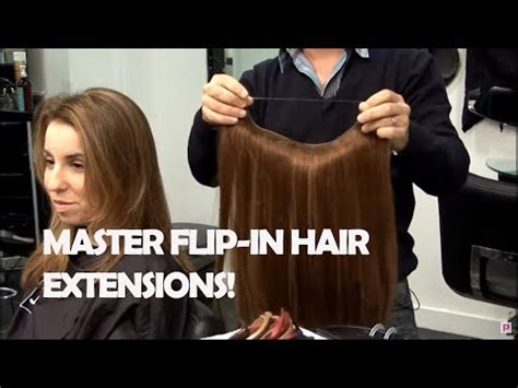 flip in hair how to use flip in hair extensions youtube