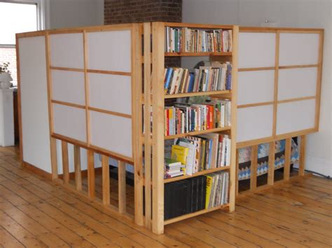 bookshelf partition bookshelves as room dividers american hwy