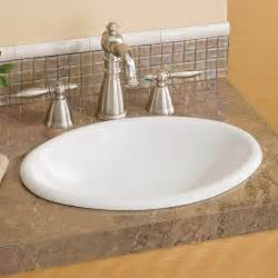 basin bathroom sinks cheviot 1102w mini oval drop in basin self