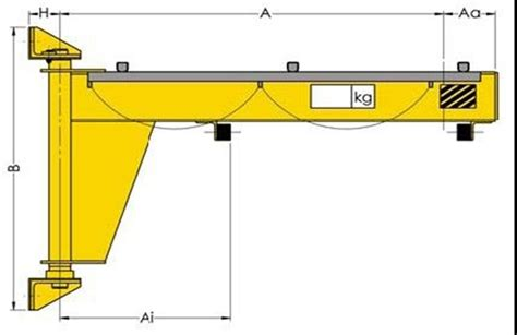 jib crane design wall cantilever mounting jib cranes product crane