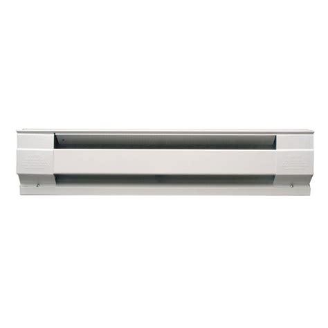 electric baseboard heater wattage cadet 30 in 500 watt 240 volt electric baseboard heater