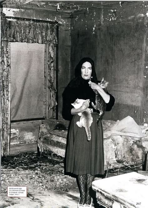 Grey Gardens Edie by Grey Gardens Edie Cats Black And White
