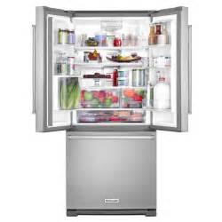 Kitchenaid Cu Ft French Door Refrigerator - krff300ess kitchenaid 30 quot 20 cu ft french door refrigerator with interior water dispenser