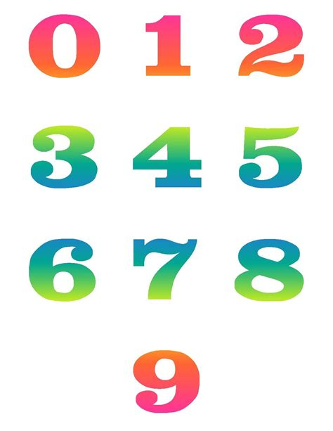 numbers clipart numbers number cliparts clipartix