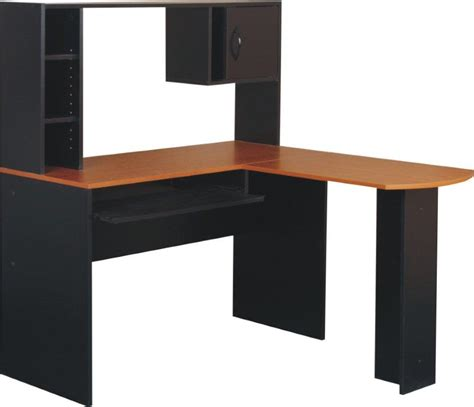 Affordable Computer Desk Cheap L Shaped Computer Desks L Shaped Desk With Hutchmaple Peninsula Lshaped Desk Whutch