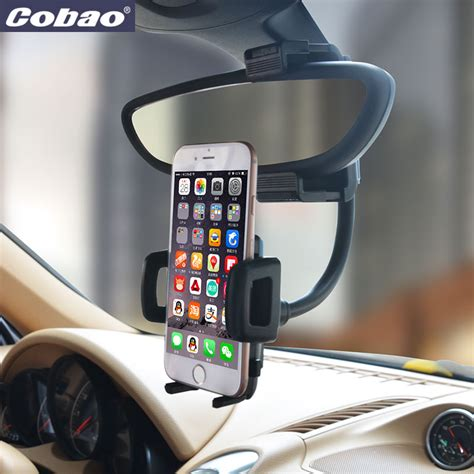 Keren Habiis 3 In 1 Car Mobil Holder Kit Pegangan Diskon universal mobile phone holder car mount rearview mirror navigation gps holder smartphone holder