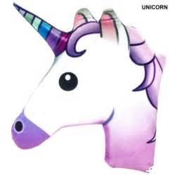 emoji unicorn pillow walmart