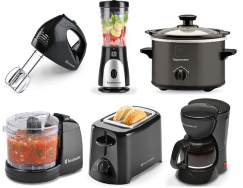 kohl s cardholders 5 small kitchen appliances 8 99 each kohls com get four free kitchen appliances after kohl s