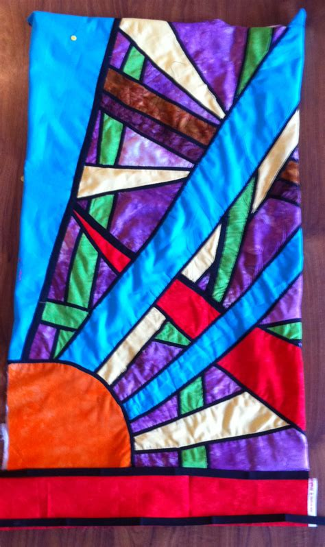 Stained Glass Patchwork - stained glass patchwork art2inspire