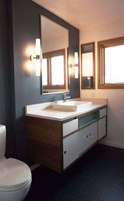midcentury modern bathroom 25 best ideas about modern bathroom lighting on pinterest