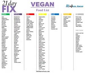 21 day fix color code how to make the 21 day fix vegan friendly
