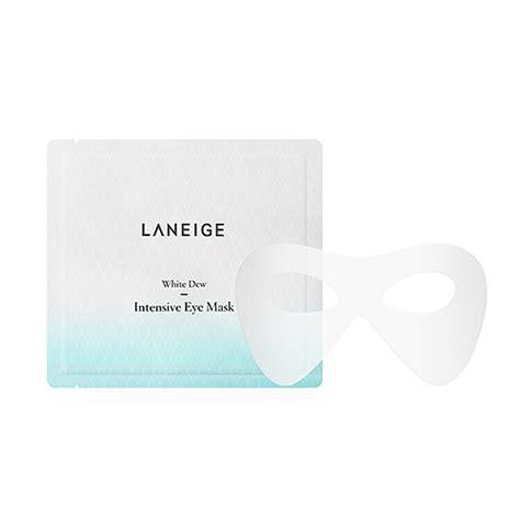 Laneige White Dew skincare mask white dew intensive eye mask laneige my