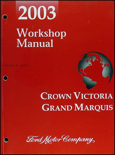 auto repair manual online 2003 ford crown victoria free book repair manuals 28 2004 ford crown search