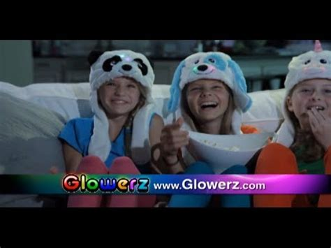 slippers commercial glowerz commercial glowerz as seen on tv color changing
