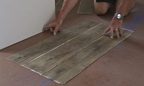 Vinyl Plank Flooring Installation First Row   Diy Projects