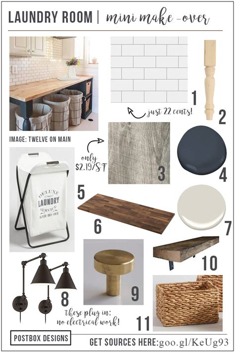 help me design my laundry room mini laundry room makeover mood board free resource