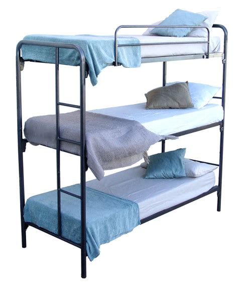 beds on line my space ava triple bunk bed frame beds online