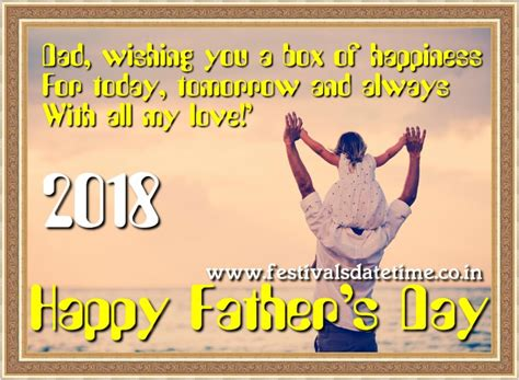 when if fathers day 2018 2018 s day date 17 june 2018 festivals dates and