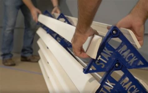 How To Trim Rack Of by Stak Rack Door And Trim Painting Accessory Ptr