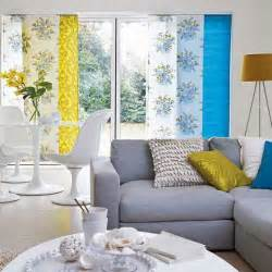 blue gray and yellow living room picsdecor
