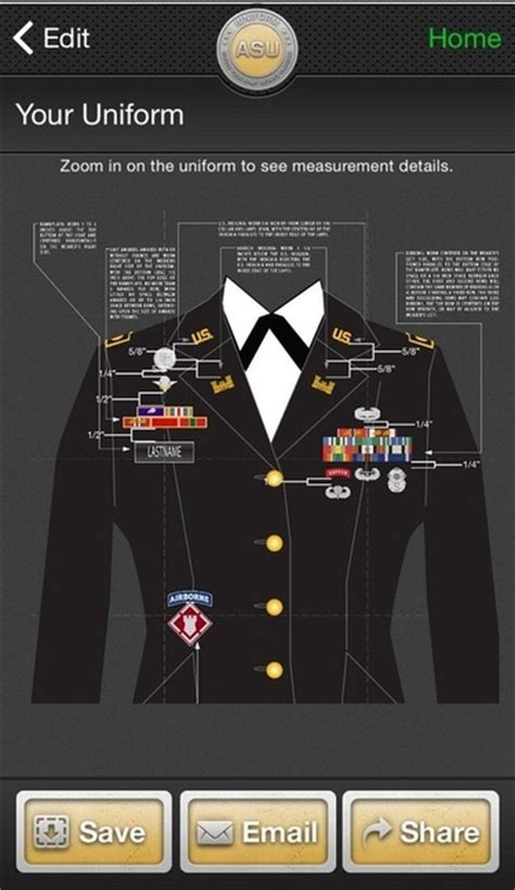 army dress blue uniform guide measurements army asu male enlisted asu uniform setup pictures to pin on