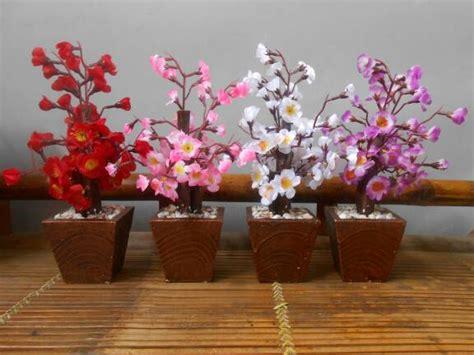 Bunga Plastik Hias Artificial Melati D jual pohon hias dekorasi imlek bunga plastik